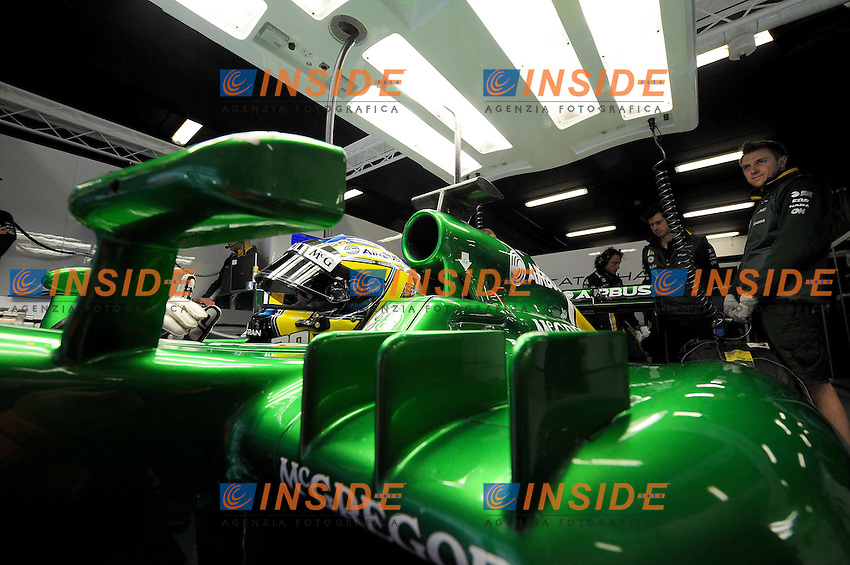 CATERHAM RENAULT FRENCH DRIVER CHARLES PIC  .Foto Insidefoto / ITALY ONLY