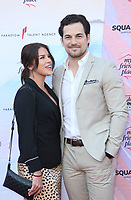LOS ANGELES, CA - APRIL 6: Nichole Gustafson, Giacomo Gianniotti, at the Ending Youth Homelessness: A Benefit For My Friend's Place at The Hollywood Palladium in Los Angeles, California on April 6, 2019.   <br /> CAP/MPI/SAD<br /> &copy;SAD/MPI/Capital Pictures