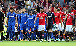 Wayne Rooney of Everton walks out as an Everton player during the premier league match at the Old Trafford Stadium, Manchester. Picture date 17th September 2017. Picture credit should read: Simon Bellis/Sportimage