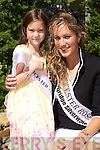 Leicester Rosebud Ciara Quinn with her rose Aishling McLoughlin at the Carlton Hotel, Tralee on Friday.