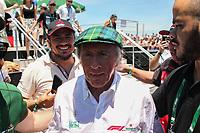 PORTO ALEGRE, 10.11.2018 - AUTOMOBILISMO-RS - Jackie Stewart tricampeão mundial da F1 (1969, 1971 e 1973) durante a Heineken F1 Experience em Porto Alegre neste sábado, 10(Foto: Naian Meneghetti/Brazil Photo Press)