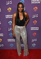 "30 July 2019 - West Hollywood, California - Nefetari Spencer. IFC's ""Sherman's Showcase"" Premiere Party held at The Peppermint Club. Photo Credit: Birdie Thompson/AdMedia"