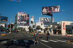 Sunset Strip in Los Angeles, CA
