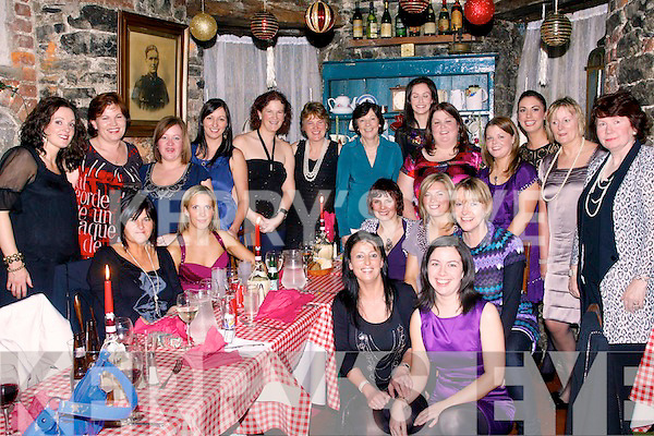 5911-5914.---------.Medical party.-------------.Staff from St Bridgets Ward,Bon Secure Hospital,Strand Rd Tralee,went to Finnigans restaurant,Denny St,Tralee,for their annual festive get together,present were Samantha Axworthy,Ann Moynihan,Helen Costello,Breda Finnucane,Patricia Breen,Kathleen Jacob,Fiona Curren,Mandy Hudson,Siobhan Burke(ward sister)Mary O'Connor,Geraldine Clifford,Jean browne,Karen Dillon,Jennifer O'Connell,Lizzia Wallis,Geraldine O'Brien,Margaret Foley,Alicia Wallace,Siobhan Dennehy and Hillary Cotter..----------------------------------------------------------------------