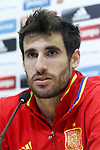 Spain's Javi Martinez in press conference after training session. March 22,2017.(ALTERPHOTOS/Acero)