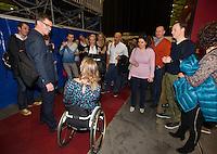 13-02-14, Netherlands,Rotterdam,Ahoy, ABNAMROWTT, Esther Vergeer<br /> Photo:Tennisimages/Henk Koster