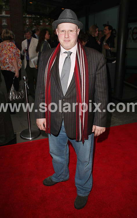 **ALL ROUND PICTURES FROM SOLARPIX.COM** **WORLDWIDE SYNDICATION RIGHTS** Caption: Arrivals at the Northern Ballet production of Cleopatra, Press Night, held at Sadlers wells Theatre, London, UK. 17 May 2011 .This pic: Matt Lucas.JOB REF: 13358 WMB DATE: 17_05_2011                                                      **MUST CREDIT SOLARPIX.COM OR DOUBLE FEE WILL BE CHARGED**                                                                      **MUST AGREE FEE BEFORE ONLINE USAGE**                               **CALL US ON: +34 952 811 768 or LOW RATE FROM UK 0844 617 7637**