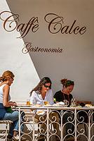 Italien, Kampanien, Ravello: drei Frauen im Cafe | Italy, Campania, Ravello: three women in a cafe
