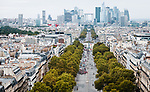 The peloton on Champs-Elysees during Stage 21 of the 2018 Tour de France running 116km from Houilles to Paris Champs-Elysees, France. 29th July 2018. <br /> Picture: ASO/Gruber Images | Cyclefile<br /> All photos usage must carry mandatory copyright credit (&copy; Cyclefile | ASO/Gruber Images)