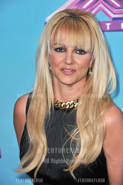 "Britney Spears at the press conference for the season finale of Fox's ""The X Factor"" at CBS Televison City, Los Angeles..December 17, 2012  Los Angeles, CA.Picture: Paul Smith / Featureflash"