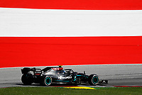 5th July 2020; Red Bull Ring, Spielberg Austria; F1 Grand Prix of Austria, Race Day; 77 Valtteri Bottas FIN, Mercedes-AMG Petronas Formula One Team on his way to taking the win