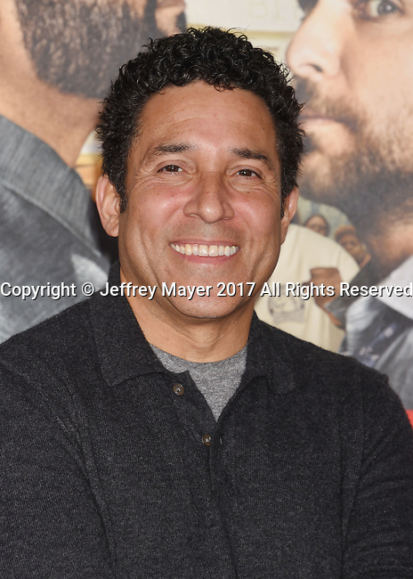 HOLLYWOOD, CA - FEBRUARY 13: Actor Oscar Nunez attends the premiere of Warner Bros. Pictures' 'Fist Fight' at the Regency Village Theatre on February 13, 2017 in Westwood, California.