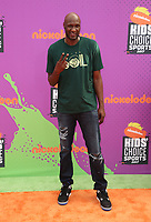 LOS ANGELES, CA July 13- Lamar Odom, At Nickelodeon Kids' Choice Sports Awards 2017 at The Pauley Pavilion, California on July 13, 2017. Credit: Faye Sadou/MediaPunch