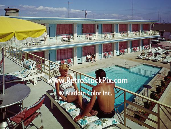 La Vita Motel, Wildwood, NJ.  Sundeck