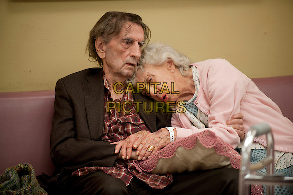 Harry Dean Stanton, Ann Morgan Guilbert<br /> in Getting On (2013) <br /> (Season 1)<br /> *Filmstill - Editorial Use Only*<br /> CAP/FB<br /> Image supplied by Capital Pictures