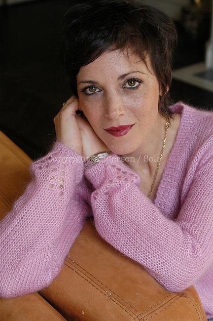 Marcela Iacub, French writer in 2005.