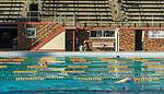 Doing laps at North Sydney Olympic Pool, NSW, Australia