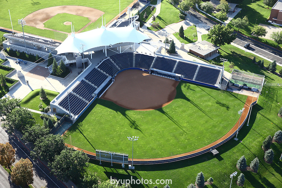 1309-22 3794<br /> <br /> 1309-22 BYU Campus Aerials<br /> <br /> Brigham Young University Campus, Provo, <br /> <br /> Miller Park MLRP, BYU Baseball Larry H. Miller Field, BYU Softball Gail Miller Field <br /> <br /> September 7, 2013<br /> <br /> Photo by Jaren Wilkey/BYU<br /> <br /> © BYU PHOTO 2013<br /> All Rights Reserved<br /> photo@byu.edu  (801)422-7322