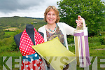 Catherine Teahan of Dragonfly Cottage home-made crafts who despite the recession has set up her own business making hand-crafted Irish products which include aprons and soft furnishings.