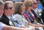 Congresswoman Shelley Berkley, D-Nev., center, listens to speakers at the Lake Tahoe Summit at Edgewood Tahoe in Stateline, Nev., on Monday, Aug. 13, 2012. The event, in its 16th year, brings political leaders from Nevada and California together to address issues related to preserving Lake Tahoe..Photo by Cathleen Allison