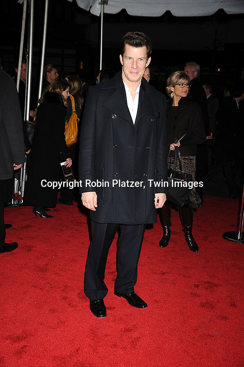 """actor Eric Mabius of """"Ugly Betty""""..posing for photographers at The New York Movie Premiere of """"Australia"""" on November 24, 2008 at The Ziegfeld Theatre. ....Robin Platzer, Twin Images....212-935-0770"""