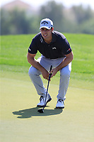 Andrea Pavan (ITA) during the 1st round of the DP World Tour Championship, Jumeirah Golf Estates, Dubai, United Arab Emirates. 15/11/2018<br /> Picture: Golffile | Fran Caffrey<br /> <br /> <br /> All photo usage must carry mandatory copyright credit (&copy; Golffile | Fran Caffrey)