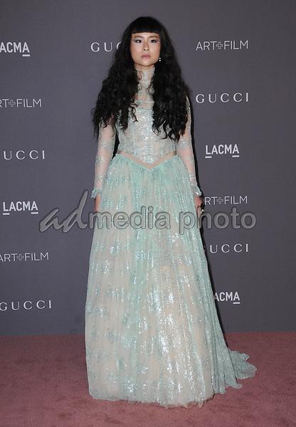 04 November  2017 - Los Angeles, California - Asia Chow. 2017 LACMA Art+Film Gala held at LACMA in Los Angeles. Photo Credit: Birdie Thompson/AdMedia