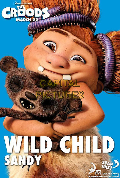 POSTER ART .in The Croods (2013) .*Filmstill - Editorial Use Only*.CAP/NFS.Supplied by Capital Pictures.