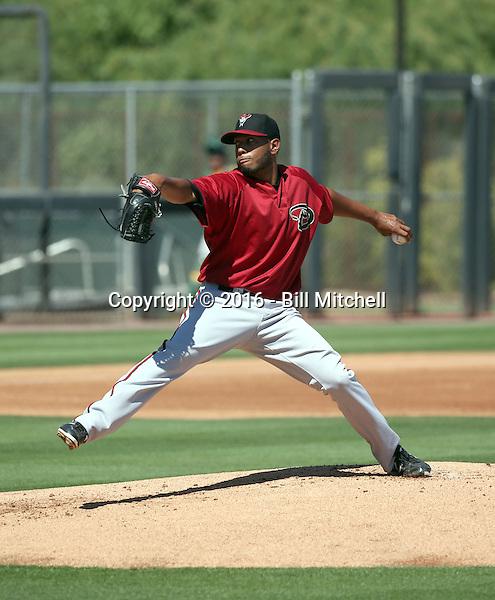 Hector Hernandez - Arizona Diamondbacks 2016 extended spring training (Bill Mitchell)