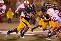08 October 2009: Missouri defensive back Carl Gettis returns a punt in the second quarter against Nebraska at at Memorial Stadium, Columbia, Missouri. Nebraska defeated Missouri 27 to 12.