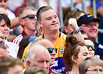 Clare fan Ronan Keane during their All-Ireland semi-final replay against Galway at Semple Stadium, Thurles. Photograph by John Kelly.