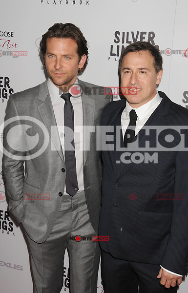 BEVERLY HILLS, CA - NOVEMBER 19: Bradley Cooper and David O. Russell arrive at the 'Silver Linings Playbook' - Los Angeles Special Screening at the Academy of Motion Picture Arts and Sciences on November 19, 2012 in Beverly Hills, California.PAP1112JP316..PAP1112JP316.. NortePhoto