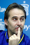 Spain's coach Julen Lopetegui during comercial event after training session. March 21,2017.(ALTERPHOTOS/Acero)