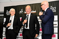 Pictured: Alan Curtis, assistant coach for Swansea During the Swansea City Christmas Party at the Liberty Stadium, Swansea, Wales, UK. Thursday 13th December 2018