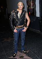 HOLLYWOOD, LOS ANGELES, CA, USA - AUGUST 12: KUBA Ka wearing Versace arrives at the Los Angeles Premiere Of Screen Media Films' 'Live Nude Girls' held at Avalon on August 12, 2014 in Hollywood, Los Angeles, California, United States. (Photo by Xavier Collin/Celebrity Monitor)