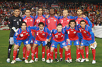 Costa Rica Starting Eleven.   The USMNT tied Costa Rica 2-2 on the final game of the 2010  FIFA World Cup Qualifying round at RFK Stadium,Wednesday  October 14 , 2009.