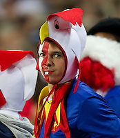 Rugby World Cup Auckland  England v France  Quarter Final 2 - 08/10/2011.French Fan (France).Photo Frey Fotosports International/AMN Images