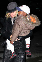 Madonna with her son David 2009<br /> Photo By John Barrett/PHOTOlink.net