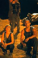 Pitch Black (2000) <br /> Radha Mitchell &amp; Vin Diesel<br /> *Filmstill - Editorial Use Only*<br /> CAP/KFS<br /> Image supplied by Capital Pictures