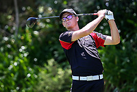 Tyler Wood of Waikato. Day One of the Toro Interprovincial Men's Championship, Mangawhai Golf Club, Mangawhai,  New Zealand. Tuesday 5 December 2017. Photo: Simon Watts/www.bwmedia.co.nz