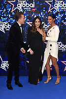 Roman Kemp, Myleene Klass, Rochelle Humes<br /> 'Global Awards 2019' at the Hammersmith Palais in London, England on March 07, 2019.<br /> CAP/PL<br /> &copy;Phil Loftus/Capital Pictures