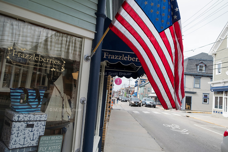 Frazzleberries is a souvenir and arts and crafts store on Thames Street in Newport, Rhode Island, seen here on Wed., April 19, 2017.