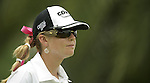 SINGAPORE - MARCH 07:  Paula Creamer of th USA waits on the par five 15th hole during the third round of HSBC Women's Champions at the Tanah Merah Country Club on March 7, 2009 in Singapore. Photo by Victor Fraile / The Power of Sport Images
