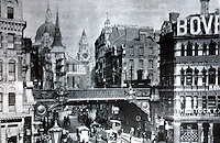 London: Ludgate Circus and Saint Paul's, 1896. VICTORIAN ARTISTS & THE CITY, 1980.   Reference only.