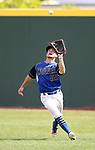 Basic's Nicholas Thompson makes a play against Palo Verde in the NIAA 4A baseball championship game in Reno, Nev., on Saturday, May 19, 2018. Palo Verde won 4-2. Cathleen Allison/Las Vegas Review-Journal