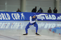 SPEED SKATING: SALT LAKE CITY: 20-11-2015, Utah Olympic Oval, ISU World Cup, 500m, Mitchell Whitmore (USA), ©foto Martin de Jong