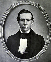 1856-57 file photo - John D. Rockefeller aged 18