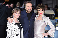 "Pauline Collins, Franco Nero and Dame Joan Collins<br /> arrives for the premiere of ""The Time of Their Lives"" at the Curzon Mayfair, London.<br /> <br /> <br /> ©Ash Knotek  D3239  08/03/2017"