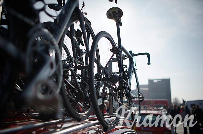 bikes on 't Zand/Bruges<br /> <br /> 3 Days of West-Flanders <br /> stage 1: Brugge - Harelbeke 183km