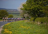Picture by Shaun Flannery/SWpix.com - 05/05/2018 - Cycling - 2018 Tour de Yorkshire - Stage 3: Richmond to Scarborough - Yorkshire, England - The peloton